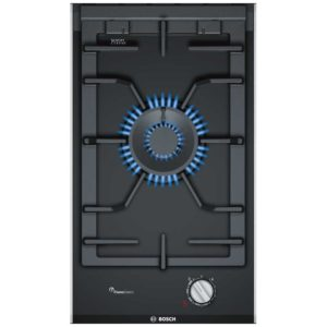 Bosch PRA3A6D70 Serie 8 Domino Wok Gas On Glass FlameSelect Hob – STAINLESS STEEL
