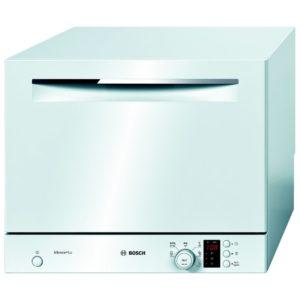 Bosch SKS62E22EU 55 x 45cm Serie 4 Freestanding Compact Dishwasher – WHITE
