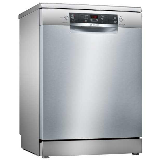 bosch sms46ii01g 60cm serie 4 freestanding dishwasher silver appliance city. Black Bedroom Furniture Sets. Home Design Ideas