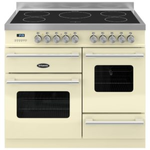 Britannia RC-10XGI-DE-CR 100cm Delphi XG Induction Range Cooker – CREAM