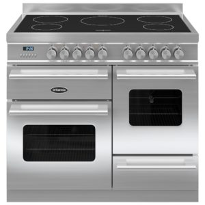 Britannia RC-10XGI-DE-S 100cm Delphi XG Induction Range Cooker – STAINLESS STEEL