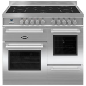 Britannia RC-10XGI-QL-S 100cm Q Line XG Induction Range Cooker – STAINLESS STEEL