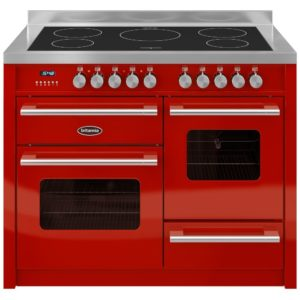 Britannia RC-11XGI-DE-RED 110cm Delphi XG Induction Range Cooker – RED
