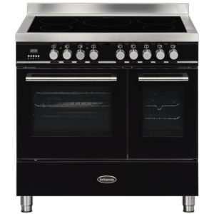 Britannia RC-9TI-QL-K 90cm Q Line Induction Twin Oven Range Cooker – BLACK