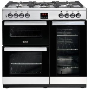 Belling COOKCENTRE 90GSTA 4076 90cm Gas Range Cooker – STAINLESS STEEL