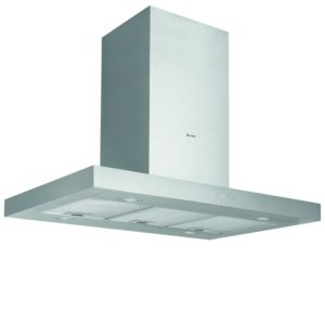 Caple BXI911 90cm Island Chimney Hood – STAINLESS STEEL