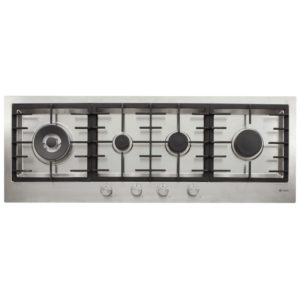Caple C1072G 110cm 4 Burner Flush Fitting Gas Hob – STAINLESS STEEL