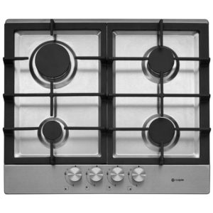 Caple C749G 60cm 4 Burner Gas Hob – STAINLESS STEEL