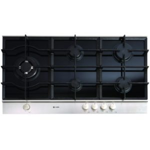 Caple C769G 90cm Gas On Glass Hob Steel Trim – STAINLESS STEEL