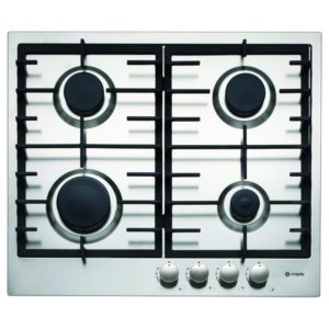 Caple C848G 59cm 4 Burner Low Profile Gas Hob – STAINLESS STEEL