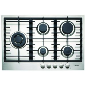 Caple C866G 75cm 5 Burner Gas Hob – STAINLESS STEEL