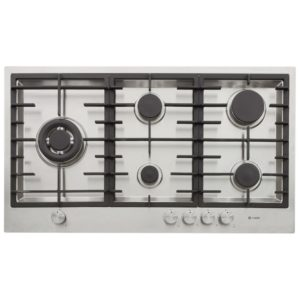Caple C972G 89cm 5 Burner Flush Fitting Gas Hob – STAINLESS STEEL