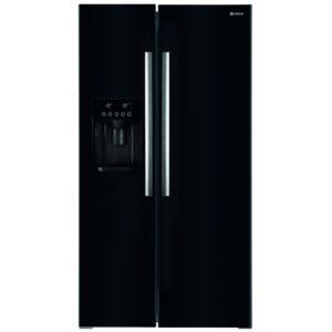 Caple CAFF207BK American Style Fridge Freezer With Ice & Water – BLACK