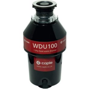 Caple WDU100 Waste Disposal Unit With Air Switch – STAINLESS STEEL