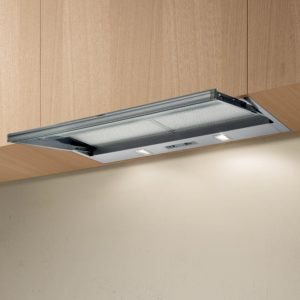 Elica SKLOCK LED 90 90cm Telescopic Hood – STAINLESS STEEL