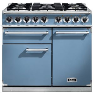 Falcon F1000DXDFCA/NM F1000 Deluxe Dual Fuel Range Cooker – BLUE