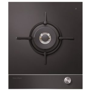 Fisher Paykel CG451DLPGB1 45cm LPG Gas On Glass Domino Wok Burner – BLACK