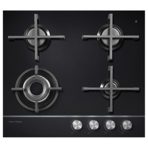 Fisher Paykel CG604DNGGB1 60cm Gas On Glass Hob – BLACK