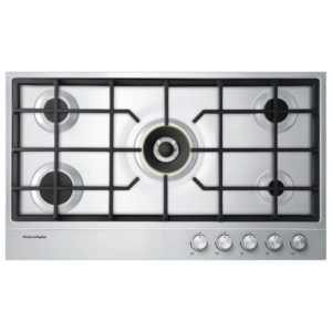 Fisher Paykel CG905DLPX1 90cm LPG Gas Hob – STAINLESS STEEL