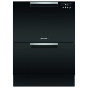 Fisher Paykel DD60DDFHB9 Designer Series Flat Twin Dishdrawer – BLACK STEEL