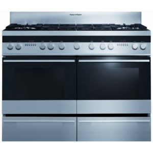 Fisher Paykel OR120DDGWX1 120cm Dual Fuel Range Cooker – STAINLESS STEEL