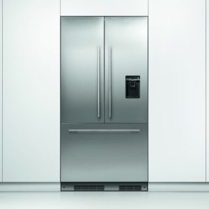 Fisher Paykel RS90AU1 90cm Integrated French Style Fridge Freezer With Ice & Water Option
