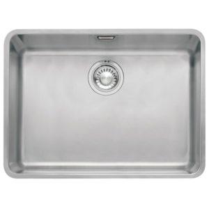 Franke KUBUS KBX110 55 Kubus Single Bowl Undermount Sink – STAINLESS STEEL