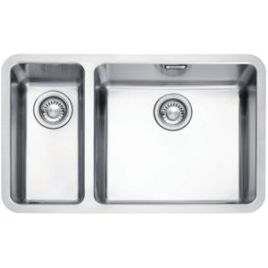 Franke KUBUS KBX160 45-20 LHSB Kubus 1.5 Bowl Undermount Sink Left Hand Small Bowl – STAINLESS STEEL