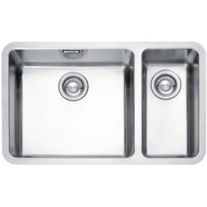 Franke KUBUS KBX160 45-20 RHSB Kubus 1.5 Bowl Undermount Sink Right Hand Small Bowl – STAINLESS STEEL