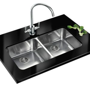 Franke LARGO LAX120 36-36 Largo Double Bowl Undermount Sink – STAINLESS STEEL