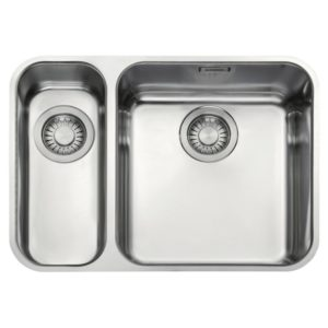 Franke LARGO LAX160 36-16 LHSB Largo 1.5 Undermount Sink Left Hand Small Bowl – STAINLESS STEEL