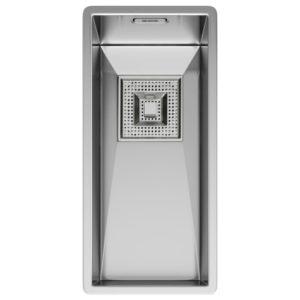 Franke PEAK PKX110 18 Peak Single Bowl Undermount Sink – STAINLESS STEEL