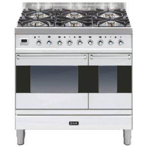 Ilve PD-906-MP-SS 90cm Moderna Dual Fuel Range Cooker – STAINLESS STEEL