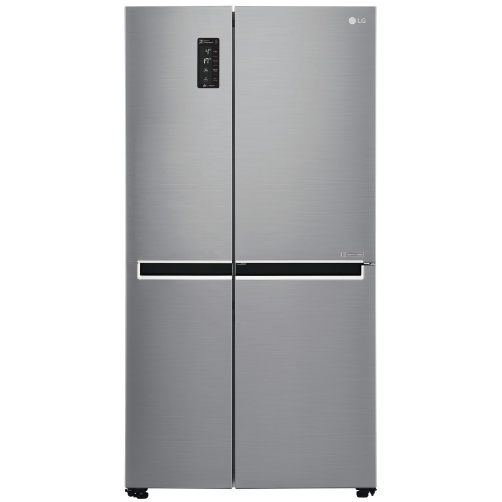 LG GSB760PZXV - EX DISPLAY American Style Fridge Freezer Non Ice & Water - STAINLESS STEEL