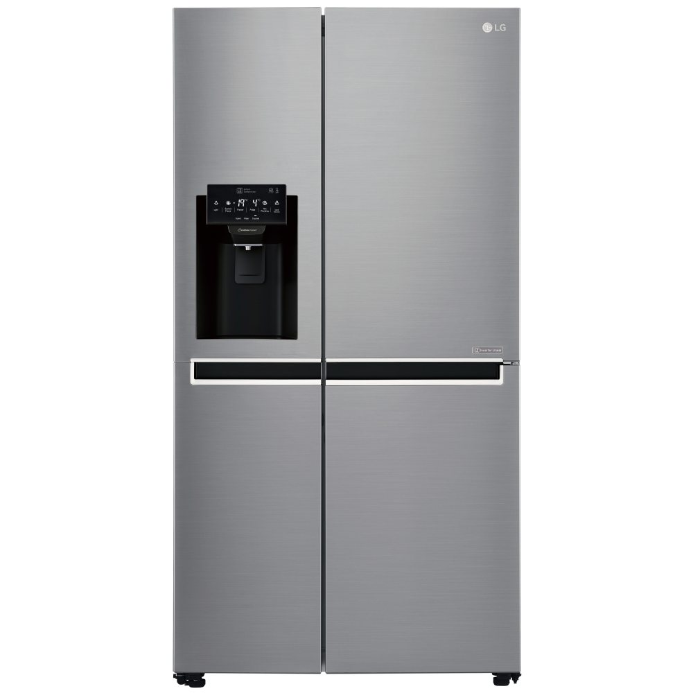 LG GSL761PZXV American Style Fridge Freezer With Non Plumbed Ice & Water - STAINLESS STEEL
