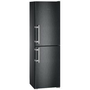 Liebherr CNBS3915 60cm Frost Free Fridge Freezer – BLACK STEEL