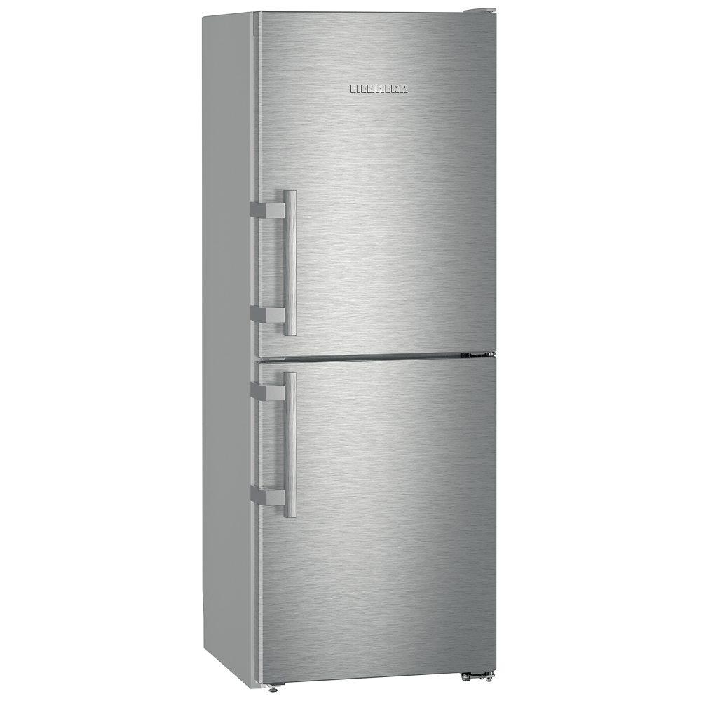 Liebherr CNef3115 Comfort 162x60cm A++ NoFrost Freestanding Fridge Freezer SmartSteel Doors