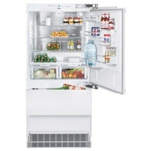 Liebherr ECBN6156 91cm Integrated Biofresh Fridge Freezer Right Hinged