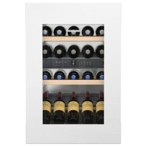Liebherr EWTGW1683 88cm Integrated In Column Vinidor Wine Cabinet – WHITE