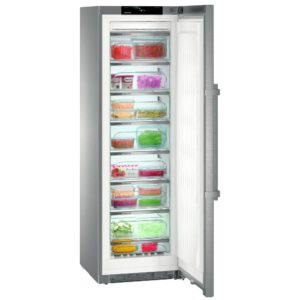 Liebherr GNPES4355 60cm Freestanding Frost Free Freezer – STAINLESS STEEL