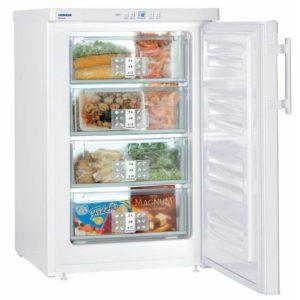 Liebherr GP1376 55cm Freestanding Undercounter Freezer – WHITE