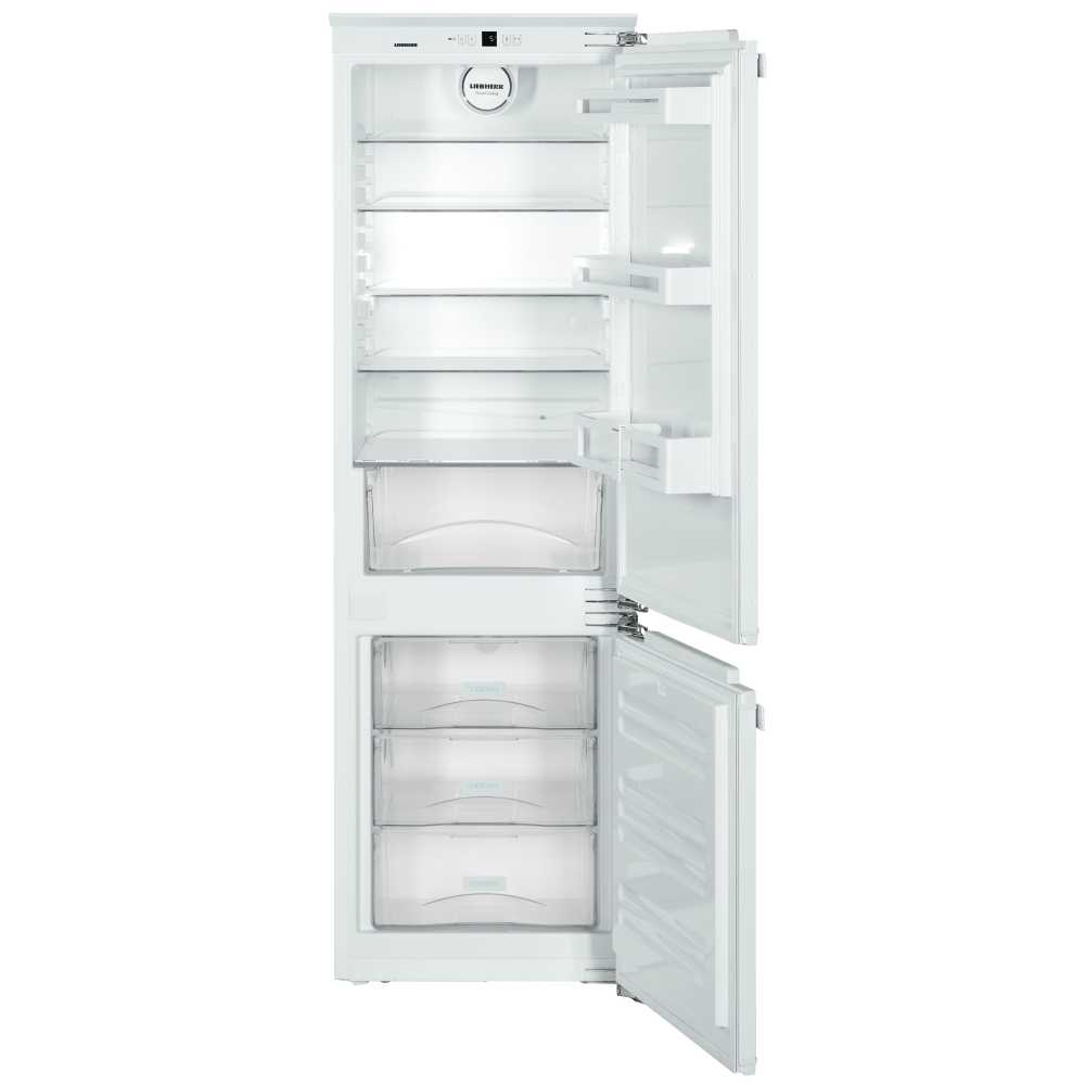 Liebherr ICU3324 Built-in SmartFrost 274 litre Comfort Fridge Freezer White with BioCool-Box PowerCooling and Automatic SuperFrost Function, Reversible Door, 55cm Width