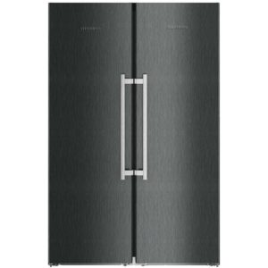 Whirlpool SW81QXRUK UW8F2CXBUK Larder Fridge And Frost Free Freezer Pack – SILVER