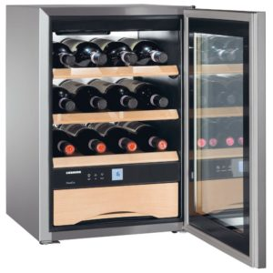 Liebherr WKES653 43cm Freestanding Grand Cru Wine Cooler – STAINLESS STEEL