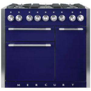 Mercury MCY1000DFBB 93190 100cm Dual Fuel Range Cooker – BLUEBERRY