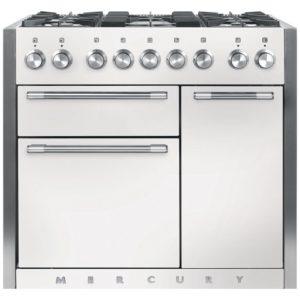 Mercury MCY1000DFSD 93170 100cm Dual Fuel Range Cooker – SNOWDROP