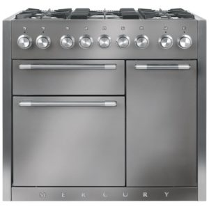 Mercury MCY1000DFSS 93110 100cm Dual Fuel Range Cooker – STAINLESS STEEL