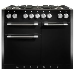 Mercury MCY1082DFAB 1082mm Dual Fuel Range Cooker – BLACK