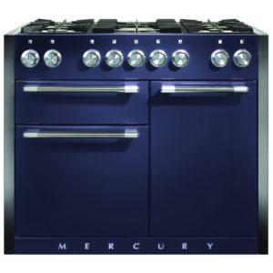 Mercury MCY1082DFBB 1082mm Dual Fuel Range Cooker – BLUEBERRY