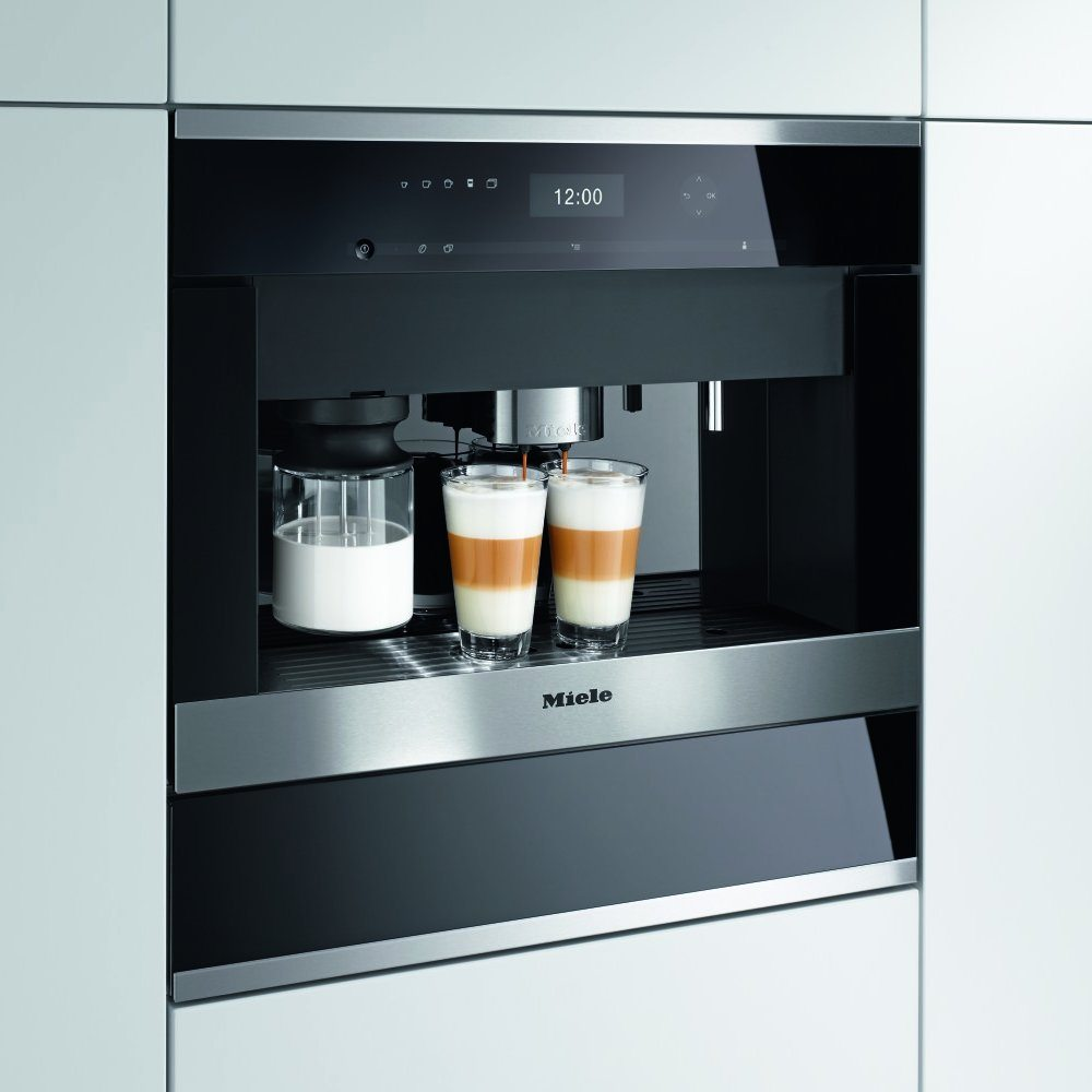 Miele Cva6405clst Built In Coffee Machine Plumbed In